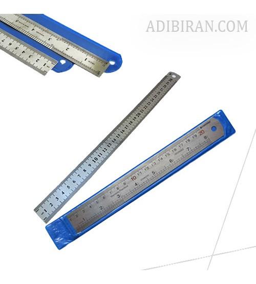 خط کش فلزی 30سانتیمتر